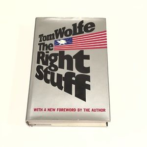 The Right Stuff Vintage Book